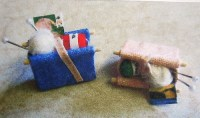 1-24th Scale Knitting Bag